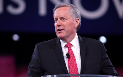 Rep. Mark Meadows Resigns from Congress