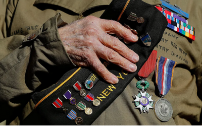 A 95-year-old veteran battled coronavirus and won: 'I survived the foxholes of Guam, I can get through this bulls**t'