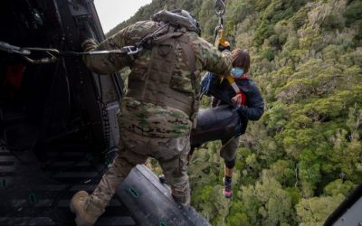 Missing New Zealand hikers found safe after 19 days stranded in wilderness