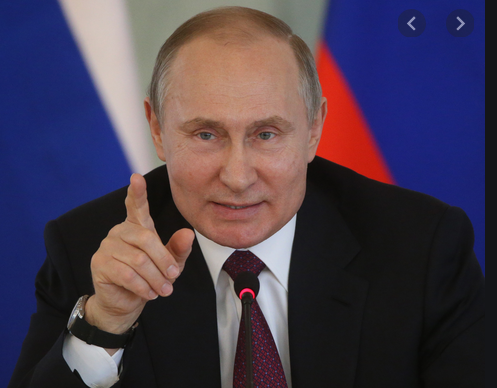 Putin Praises Russians For Voting 'With Their Hearts' To Let Him Keep Power Until He's 83