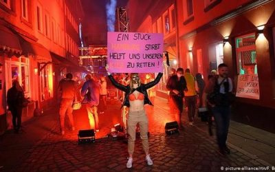 German Sex Workers Demand Right To Work Amid COVID