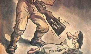 Smith: Martial Law Is Unacceptable Regardless Of The Circumstances