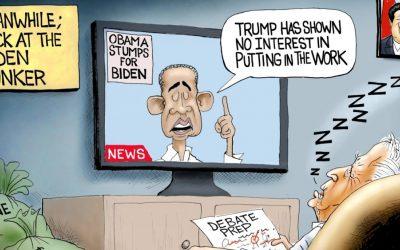 Quid Pro Quo Beijing Joe – A.F. Branco Cartoon
