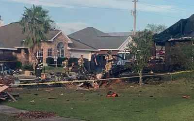 Two Pilots Dead After Navy Plane Crashes In Residential Alabama Neighborhood