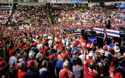 Trump is Attracting More Undecided Voters to His Rallies