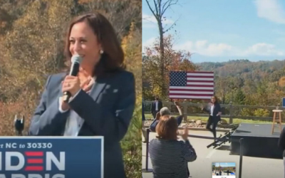Liberal Media Refuses To Show Tiny Kamala Crowd, This Is Hilarious…