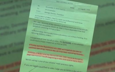 Fla. man claims he was fired in retaliation for sharing a letter about layoffs under Biden administration