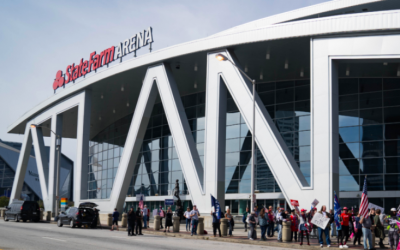 Subpoena in Georgia Election Lawsuit Seeks Video Footage From State Farm Arena