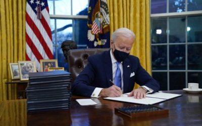 Biden signs series of damaging executive orders