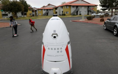 Robocop? LasVegas Apartment Complex Deploys Human-Sized Robot To Fight Crime