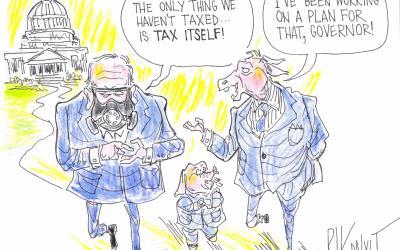 A New Tax Plan – Rik Dalvit Cartoon