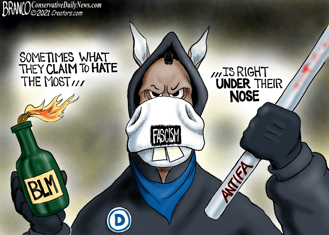 Party of Hate: A.F. Branco Cartoon