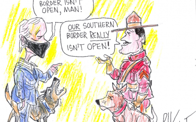Southern Borders – Rik Dalvit Cartoon