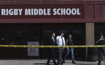 3 injured, suspect in custody in Idaho middle school shooting