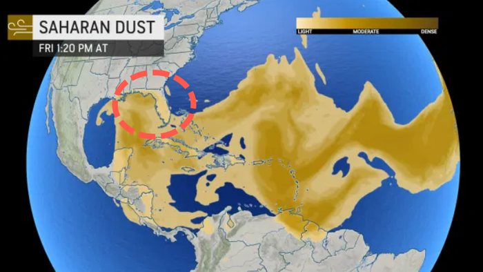 Florida Braces For AnotherSaharan Dust Storm