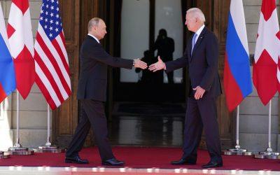 Joe Biden and Vladimir Putin deliver mixed messages about Geneva meeting