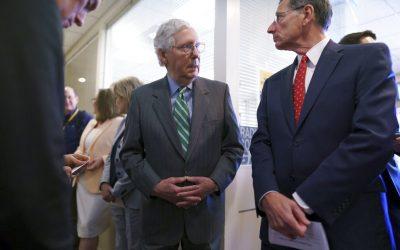 Republicans slam S.1 as a 'Democrat power grab'