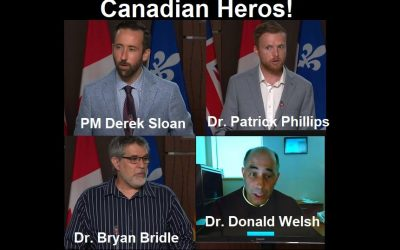 Canadian Politician Derek Sloan Uses Parliament Hill to Give Voices to Censored Doctors and Scientists Blowing the Whistle on COVID-19 Genocide and Crimes Against Humanity