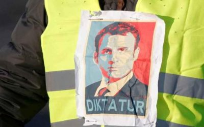 France's Macron Just Gave Away The Plot With His Outside Voice