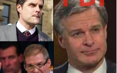 Gaetz and Jordan Demand Answers from FBI Director Wray