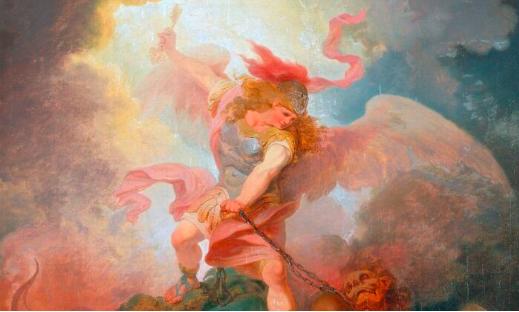The Goodness of Heaven Is Key: 'The Angel Binding Satan'
