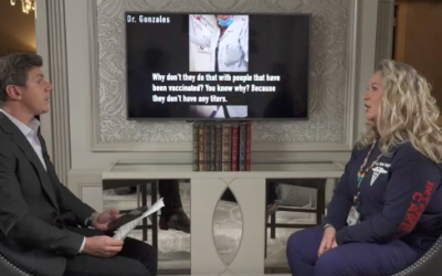 Watch: Federal Govt Whistleblower Goes Public with Secret Recordings: 'Government Doesn't Want to Show the [COVID] Vaccine is Full of Sh*t'; 'Shove' Adverse Effect Reporting 'Under the Mat'