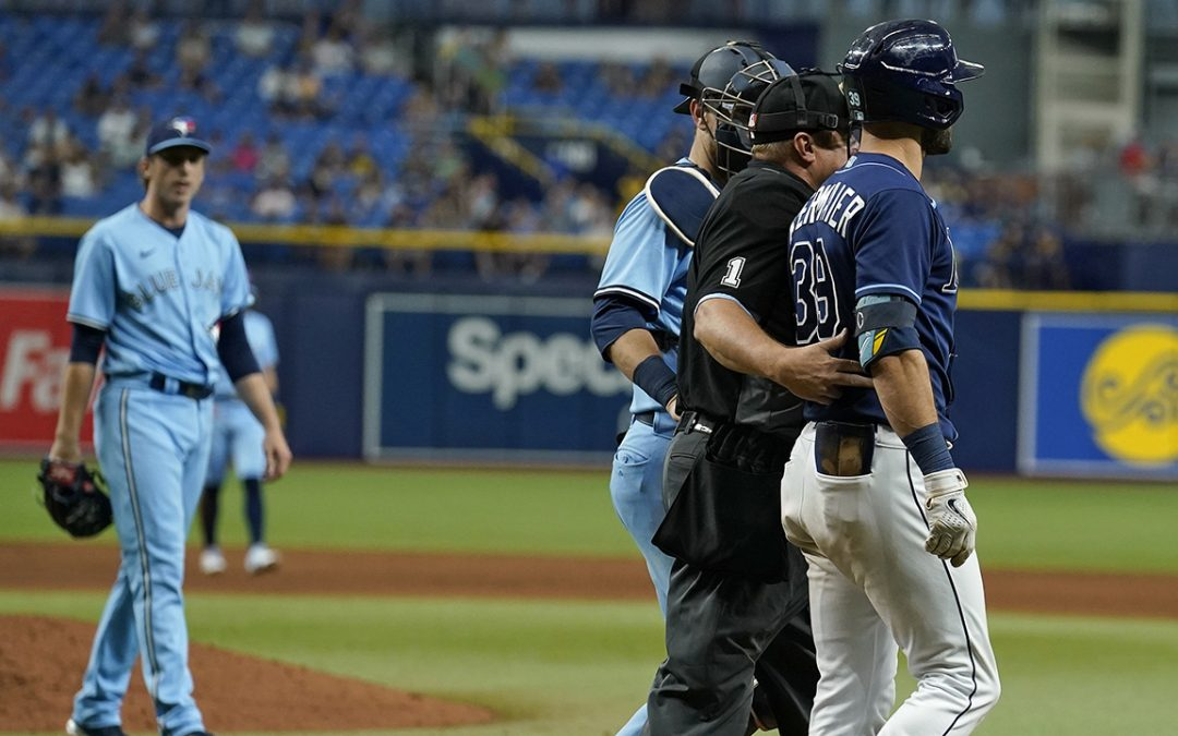 Rays' Kevin Kiermaier wants Blue Jays in postseason after scouting-card controversy