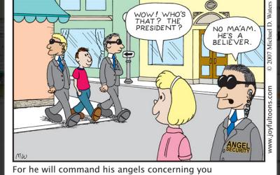 [First Aid – Joyful toons] 39 Angel Security